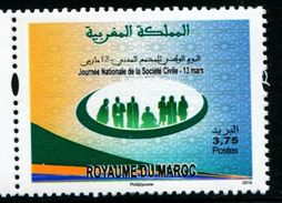 XF1189 Morocco 2016 Civil Society 1v MNH - Sonstige - Europa