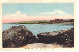 11 La Nouvelle La Plage Vue Des Rochers En 1938 édition Lasserre Port La Nouvelle - Port La Nouvelle