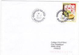 Polynésie Française, Lettre De 2000, HAKAHAU-UA-POU, MARQUISES, N° 588 ( Poly17/053) - Covers & Documents