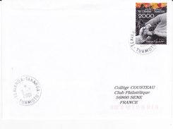 Polynésie Française, Lettre De 2001, TEAVAROA-TAKAROA, TUAMOTU, N° 610 ( Poly17/062) - Lettres & Documents