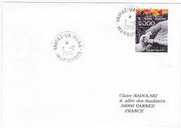 Polynésie Française, Lettre De 2000, VAIPAE-UA-HUKA,MARQUISES, N° 610 ( Poly17/077) - Covers & Documents