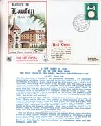 République Fédérale - Lettre De 1980 - Oblit Laufen Salzach - Croix Rouge - Exp Vers Jersey - BRD