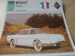 RENAULT FLORIDE 1959 - Voitures