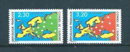 France Timbres De Service De 1990  N°104 Et 105  Neuf ** Parfait - Service