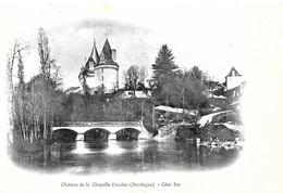 Chapelle Faucher. Le Pont Et Le Chateau De Chapelle Faucher. - France