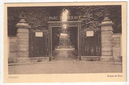 92 - SCEAUX - Entrée Du Parc - Sceaux