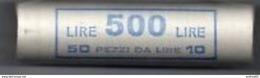 Lire 10 1999 Spiga Lunga - FDC/Unc Rotolino/roll 1 Rotolino Da 50 Monete/1 Roll 50 Coins - 10 Lire
