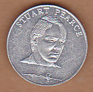 AC -  STUART PEARCE ESSO  WORLD CUP COLLECTION ITALY 1990 TOKEN JETON - Monetary/Of Necessity