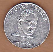AC -  STUART PEARCE ESSO  WORLD CUP COLLECTION ITALY 1990 TOKEN JETON - Monedas/ De Necesidad