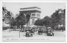 DC 480 - Paris (XVIe) - Avenue Du Bois De Boulogne Et L'Arc De Triomphe. - LL 1895 - District 16