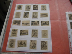 79 Figuritas Diff Thomas - Barcelona. Figuras De Cervantes ORIGINALES (3,3 X 4,5 Cms.) Glued Down With Paperstrip LITHO - Collections & Lots