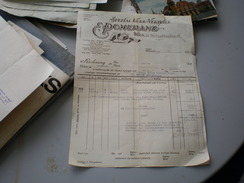 Wien 1923  Spezial Kork Vertrieb E  Pomeranz - Austria