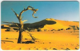 NAMIBIA A-088 Chip Telecom - Landscape, Desert - Used
