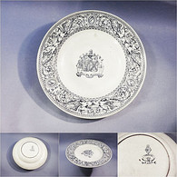 * PLAT BLEU EN FAÏENCE ANGLAISE DE BEAUVAIS - Céramique Bleu Anglais Angleterre - Ceramics & Pottery