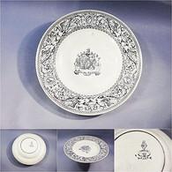 ~ PLAT BLEU EN FAÏENCE ANGLAISE DE BEAUVAIS - Céramique Bleu Anglais Angleterre - Autres