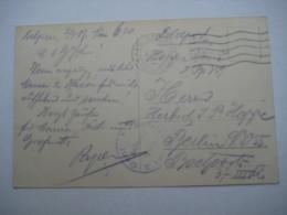 1917 , Betriebsamt GENT    , Carte Postale Militaire - WW I