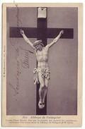 35 Paimpont - L'Abbaye De Paimpont - Ce Beau Christ D'ivoire, D'un Prix Inestimable Est L'oeuvre D'un Moine ... - Paimpont