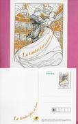 Carte Postale - Fête Du Timbre 2017 - Postal Stamped Stationery