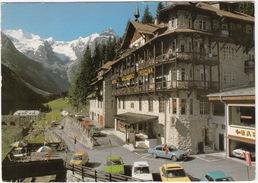 Trafoi Am Stilfsersjoch: OPEL MANTA B, ALFASUD & ALFA 2000 BERLINA, AUTOBIANCHI A112, BMW 520 -Hotel 'Madaccio'-(Italia) - Passenger Cars