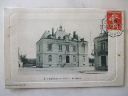 13032017  - 91 -  MEREVILLE  - LA MAIRIE  - - Mereville