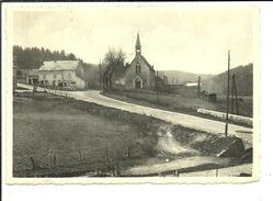Couvin Le Pont Du Roi Et L'Eglise Des Bois ( Tram à Droite De L'Eglise ) - Couvin