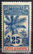COTE D'IVOIRE              N° 27                   NEUF* - Unused Stamps
