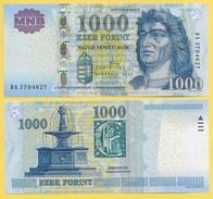 Hungary 1000 Forint P-197d 2012 UNC - Hungary