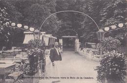BRUXELLES  - Entrée Principale Du Trianon Vers Le Bois De La Cambre - Propriétaire: A. Parfondry - Bosques, Parques, Jardines