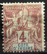 COTE D'IVOIRE              N° 3                   NEUF* - Unused Stamps