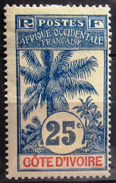 COTE D'IVOIRE              N° 27                   NEUF SANS GOMME - Unused Stamps