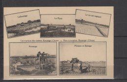 Chine - Les Travaux Des Rizières Kouangsi - Rice Cultivation - Chine