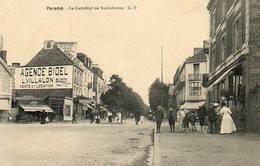 CPA - PARAME (35) - Aspect Du Carrefour De Rochebonne Et Du Bar Des Tramways En 1913 - Parame