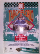 X 80 TARGA FLORIO 96 RALLY INTERNAZIONALE NUMERO UNICO RRR 24 PAG - Automobile - F1