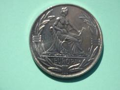 Trésor Du Patrimoine, Médaille Ecu 1982, Europa, Cupro-nickel - TRÈS BON ÉTAT - France