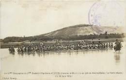 MAROC LA 12 Em COMPAGNIE CAPITAINE ARNAUD TRAVERSE LA MOULOUYA AU GUE DE HADJRA KALAA LA PIERRE NOIRE LE 14 JUIN 1913 - Andere