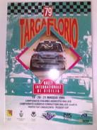 X 79 TARGA FLORIO 95 RALLY INTERNAZIONALE TABELLA TEMPI E DISTANZE RRR 12 PAG - Automobilismo - F1