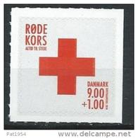 Danemark 2014 N°1753 Neuf, Croix Rouge - Danemark