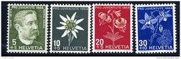 SWITZERLAND 1944 Pro Juventute Set  MNH / **.  Michel 439-42 - Pro Juventute