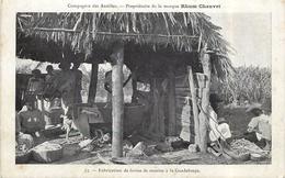 GUADELOUPE - Fabrication De Farine De Manioc. - Guadeloupe