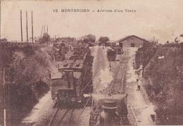 MONTBRISON       ARRIVEE D UN TRAIN - Montbrison