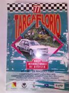 X 77 TARGA FLORIO 1993 PROGRAMMA & TABELLE DISTANZE 10 PAG OTTIMO - Automobilismo - F1