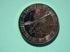 Trésor Du Patrimoine, Médaille 1er Janvier 1999, Euro Parité, Europa, Cupro-nickel Aspect Doré - TRÈS BON ÉTAT - France