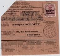 1918, 75 C. Sur Mandat, #7812 - Weltkrieg 1914-18