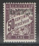Martinique - YT Taxe 7 * - Martinique (1886-1947)