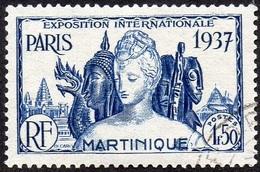 Détail De La Série Exposition Internationale De Paris Obl. Martinique N° 166 - 1937 Exposition Internationale De Paris