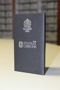 Stanley Gibbons Collector Wallet Pocket Size Stockbook - Formato Piccolo, Sfondo Nero