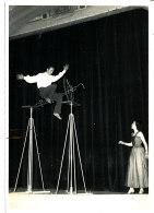 PH 89-  PHOTO -CIRQUE -JOHNNY GRAY   ROUBAIX   (format :18,00 Cm X 13,00 Cm) - Fotos