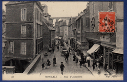 29 MORLAIX Rue D'Aiguillon ; Commerces, Calèche, Vélo, Viaduc - Animée - Morlaix