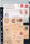 Belgica. Conjunto De 8 Piezas De Historia Postal - Bélgica