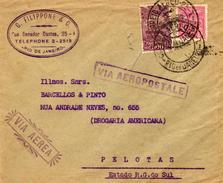 Enveloppe Aéropostale De 1932 - Avions